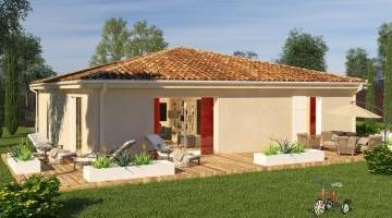 CAMELIA - Toiture Sud - Style Traditionnel - Vue Jardin