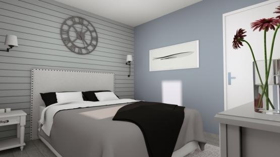 LILIA - 2CHSG - Vue Chambre
