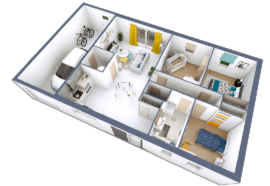 REALIA - 3CHAG XL - Plan incliné