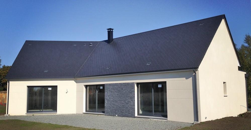 Maison + terrain à CHAUMONT-EN-VEXIN 60240 dans l'OISE