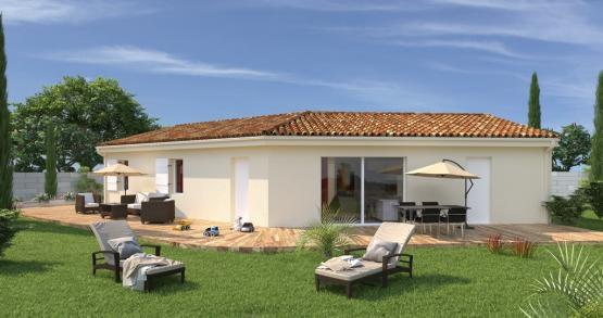 VITALIA - Toiture Sud - Style Traditionnel - Vue jardin