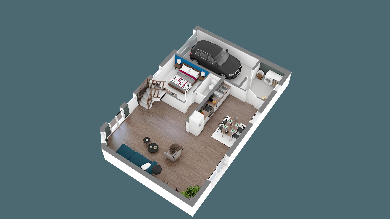 Construction d'une maison Grandvilliers (60210) 178 500 €
