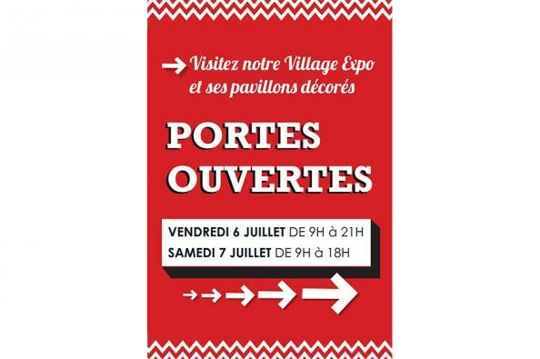LE VILLAGE EXPO OUVRE SES PORTES CE WEEK-END !