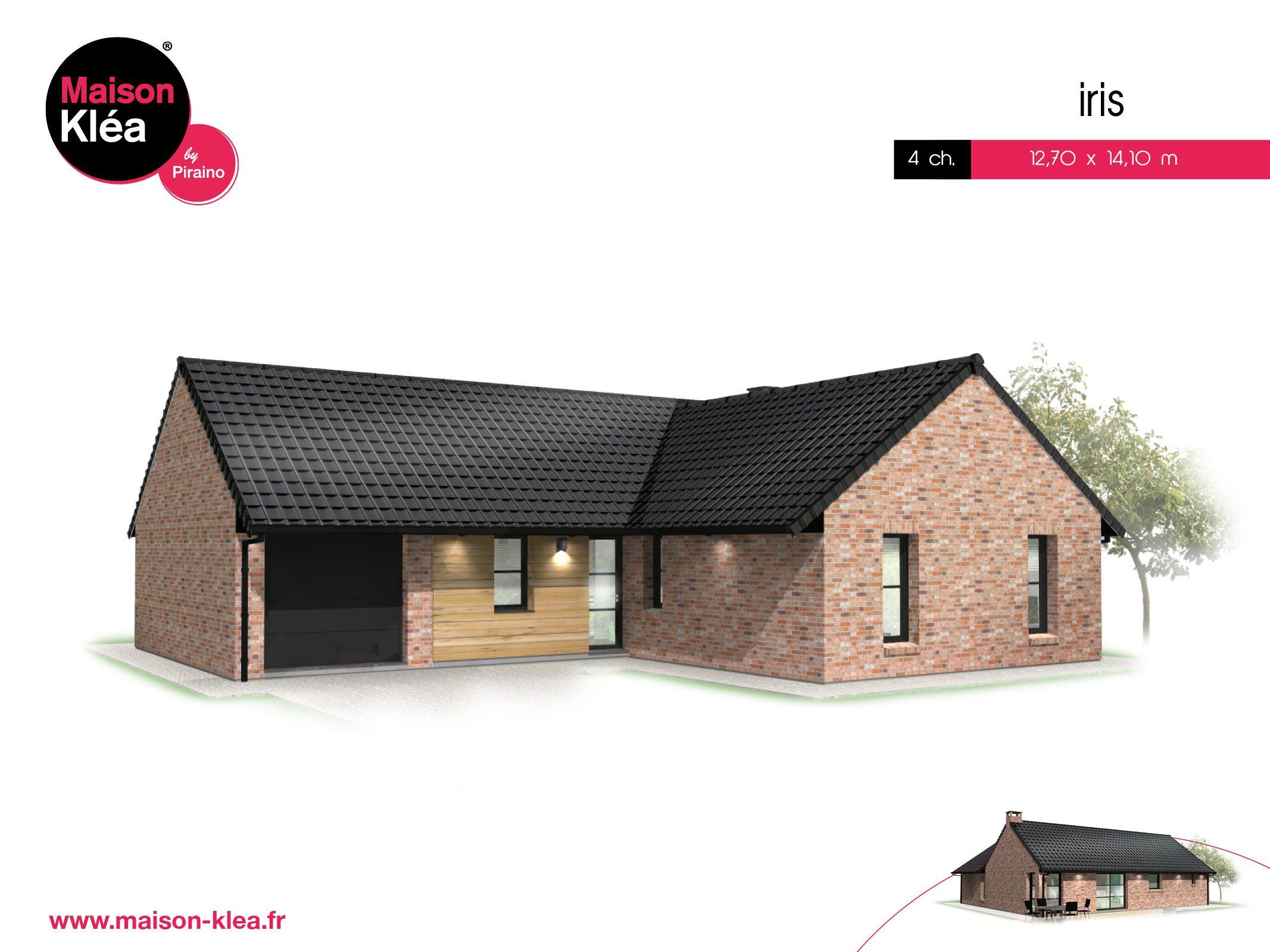 Terrain et maison à construire Lorgies 105m²