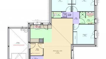 plan maison destructurée clermont ferrand