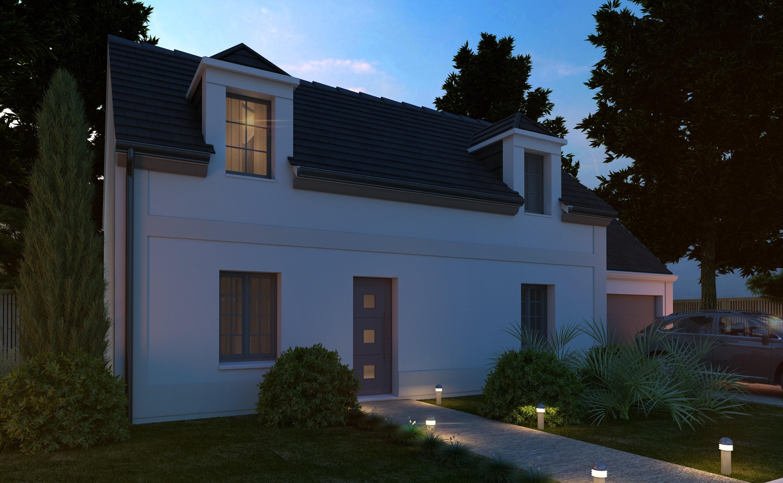 Maison + terrain à FREPILLON 95740 dans le VAL D'OISE