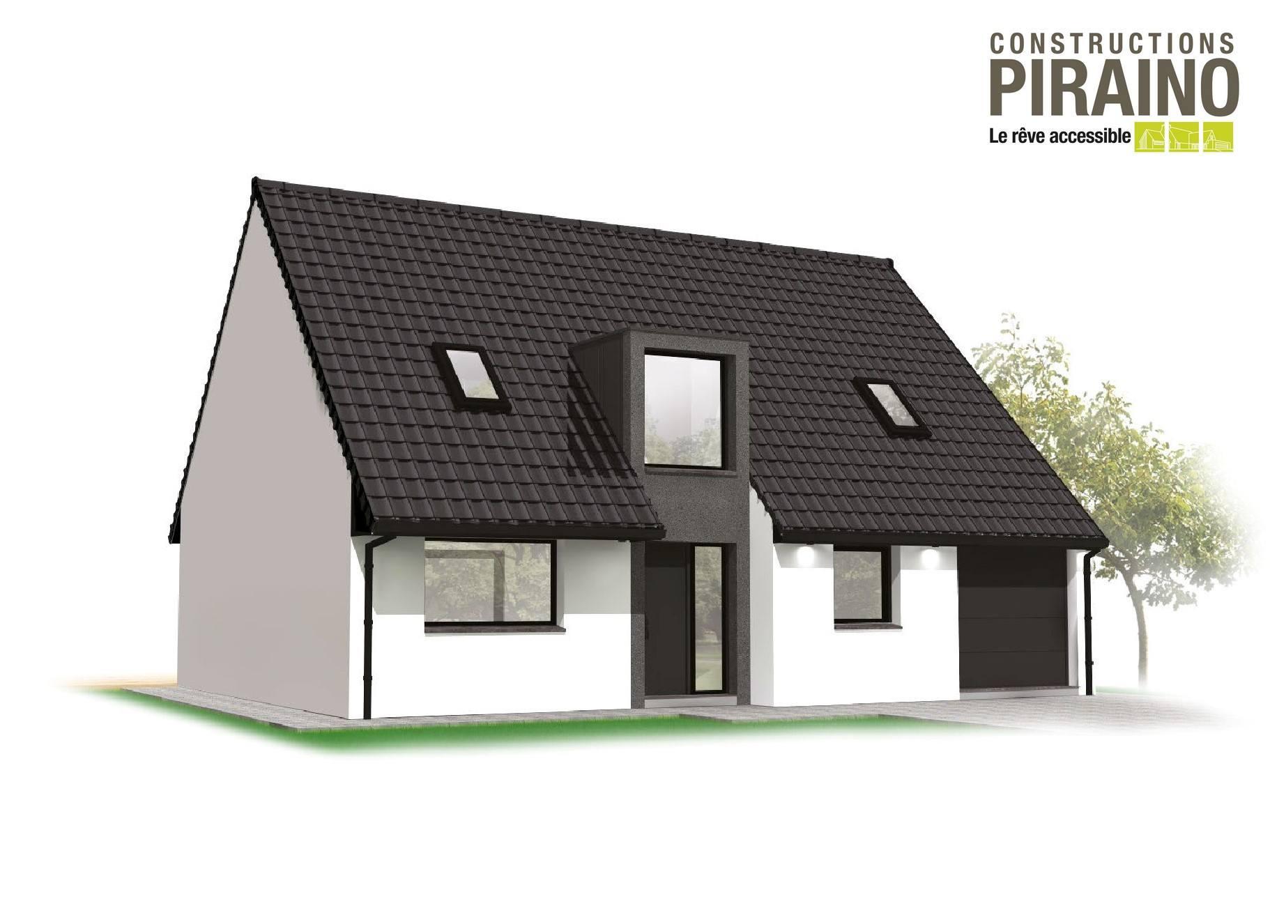 Terrain et maison à construire Nivelle 134m²