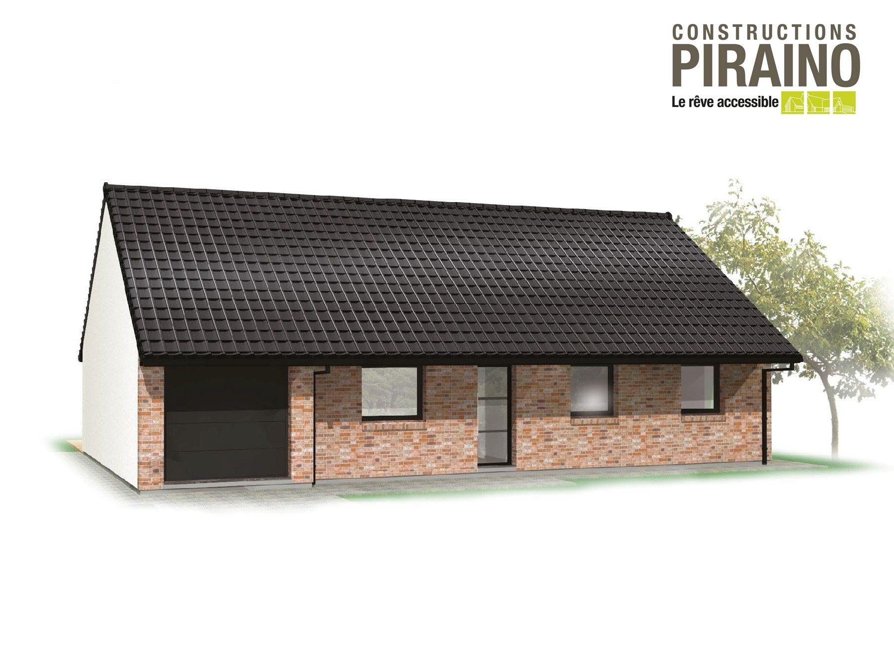 Terrain et maison à construire Moncheaux 99m²