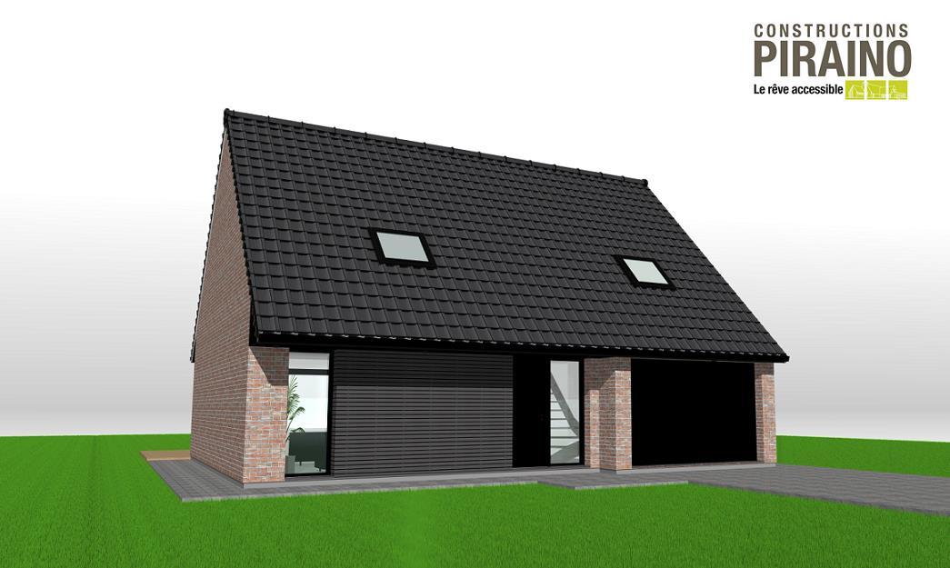 Terrain et maison à construire Coutiches 99m²
