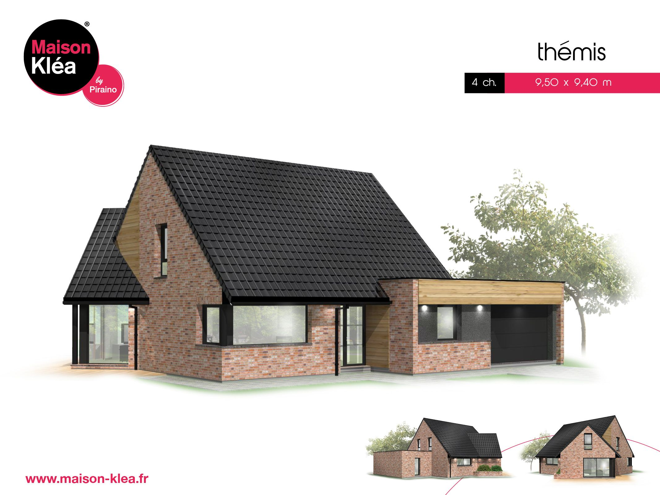 Terrain et maison à construire Rosult 124m²