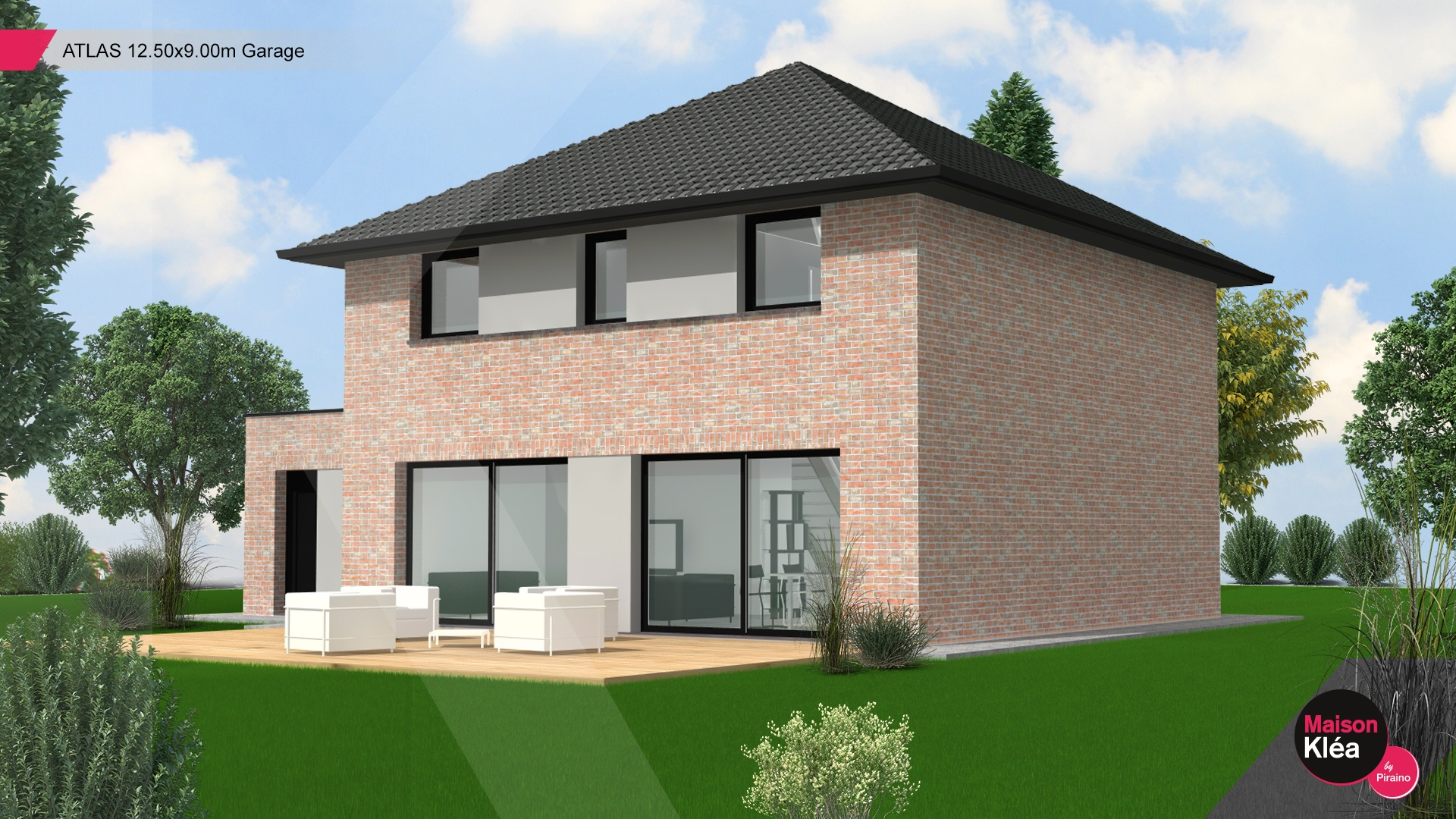 Terrain et maison à construire Faumont 128m²