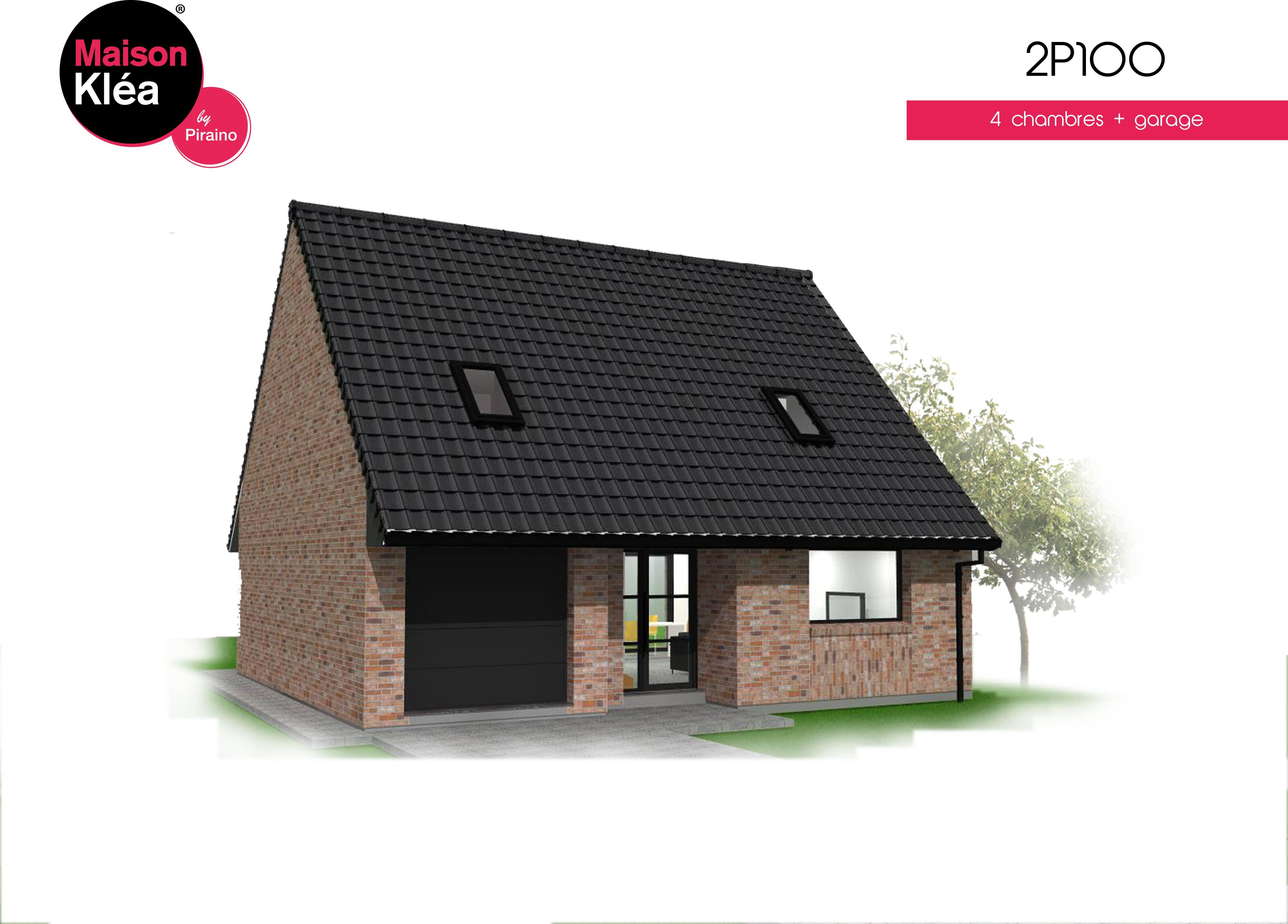 Terrain et maison à construire Hazebrouck 109m²