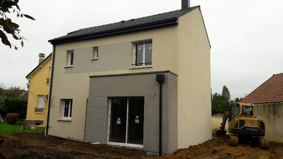 Maison + terrain à LES CHAPELLES-BOURBON 77610 dans la SEINE-ET-MARNE