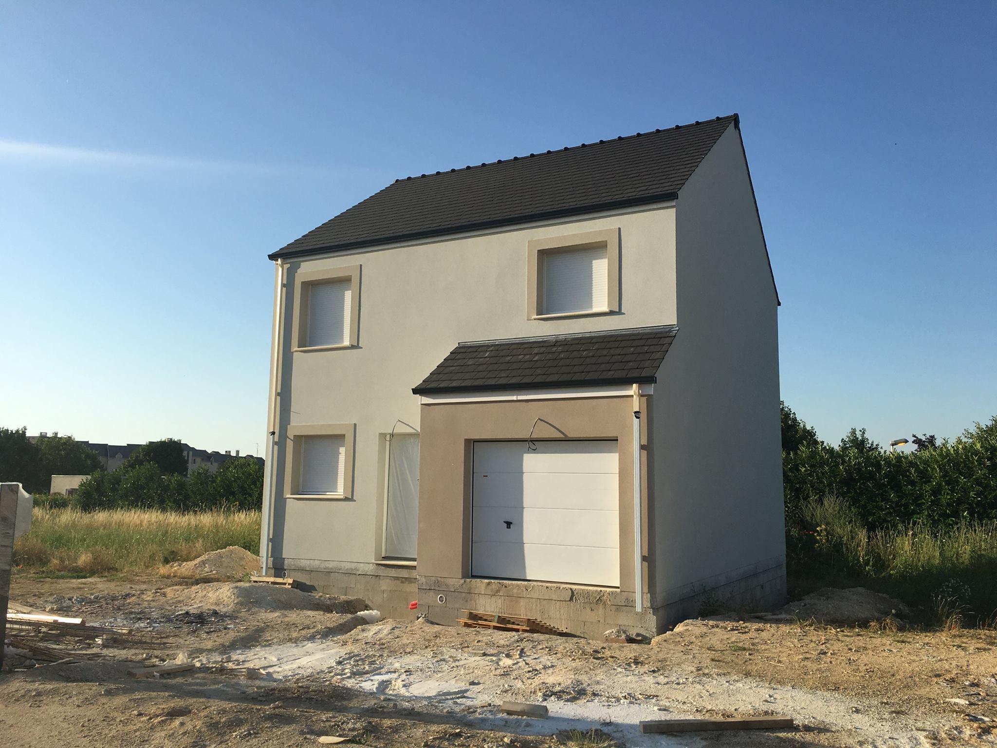 Maison + terrain à VERT-SAINT-DENIS 77240 dans la SEINE-ET-MARNE