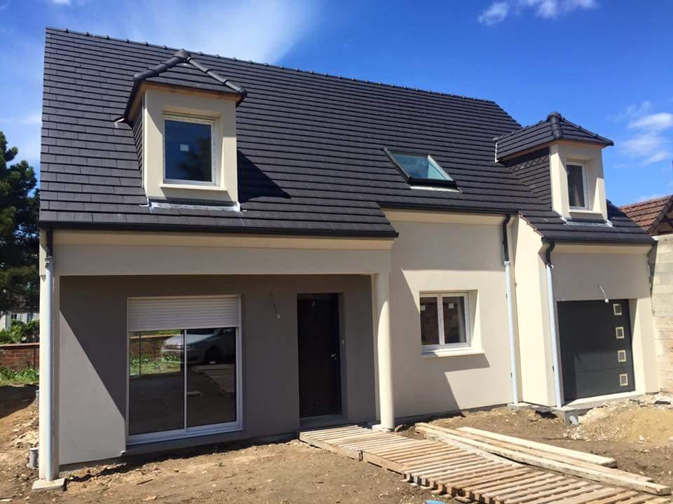 Maison + terrain à MOUROUX 77120 dans la SEINE-ET-MARNE