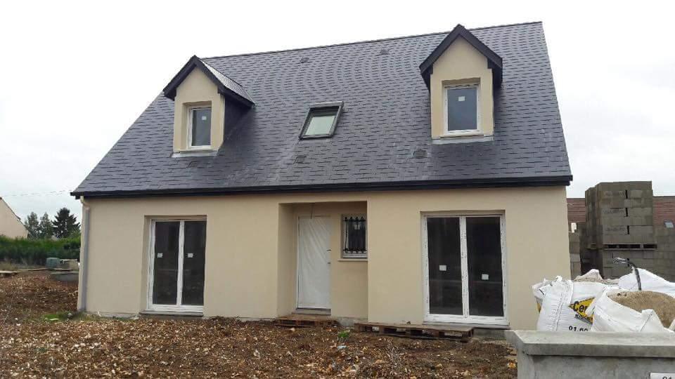 Maison + terrain à PUISEUX-PONTOISE 95650 dans le VAL D'OISE