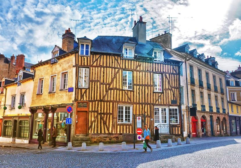 La belle ville de Rennes