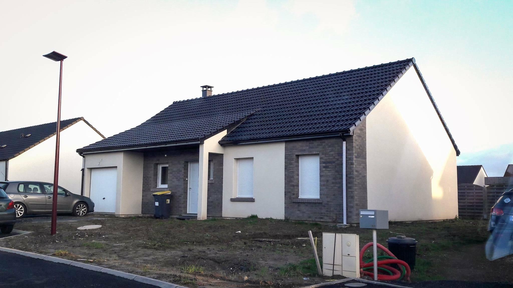 Construction d'une maison à Bapaume 62450 pour 155 500 €
