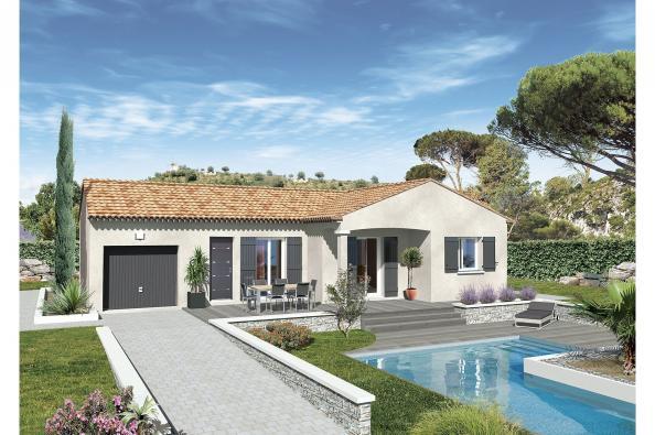 Maison MALOYA - VERSION PACA - Saint-Nazaire (30200)