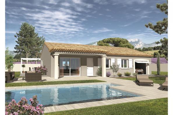 Maison LAMBADA - VERSION PACA - Camaret-sur-Aigues (84850)