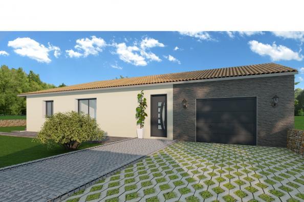 Maison MEZZO - Saint-Maurice-de-Gourdans (01800)