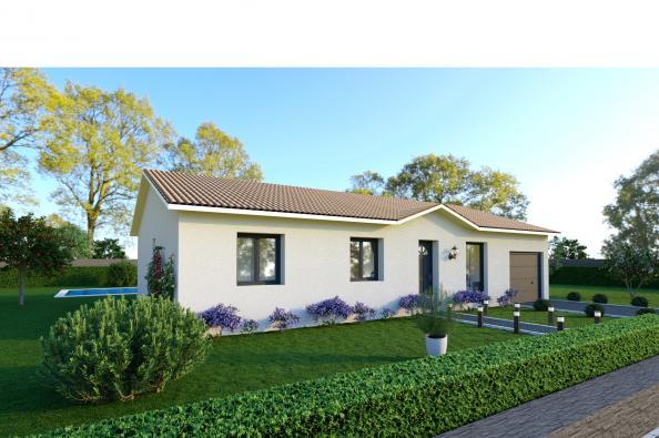 Maison MEZZO - Nivolas-Vermelle (38300)