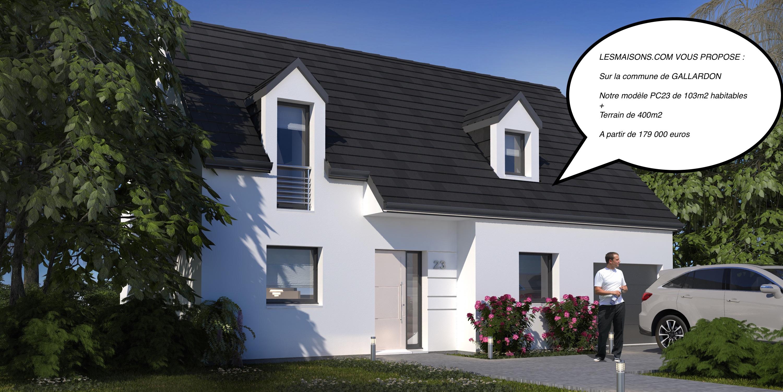 Maison + terrain à GALLARDON 28320 dans l'EURE ET LOIR