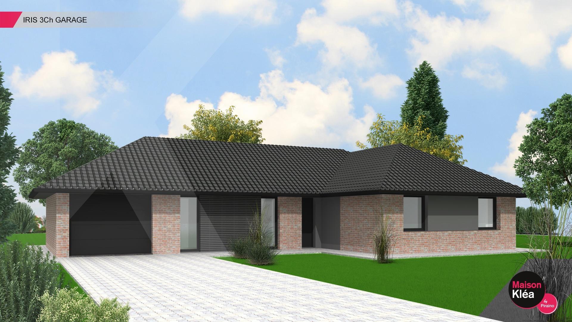 Terrain et maison à construire Ennevelin 111m²