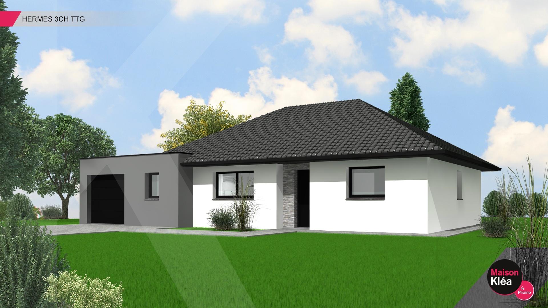 Terrain et maison à construire Wahagnies 105m²