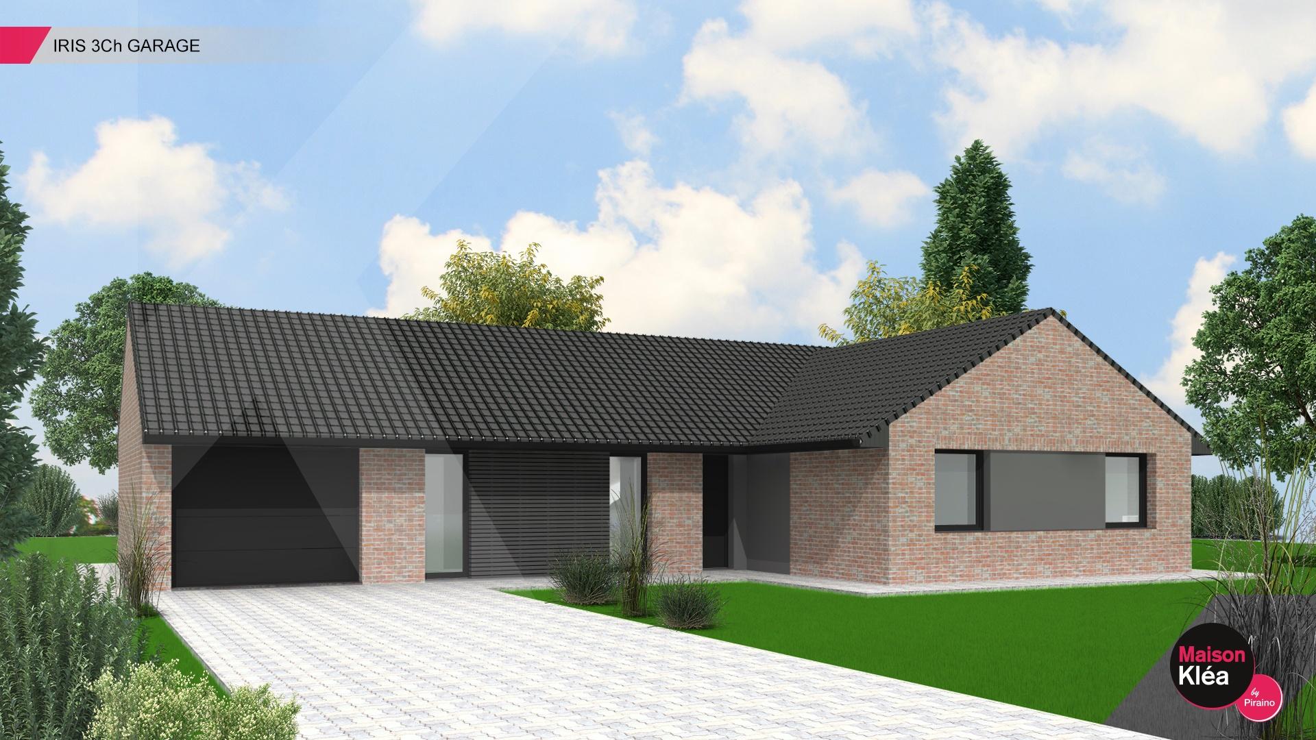 Terrain et maison à construire Escaudœuvres 111m²