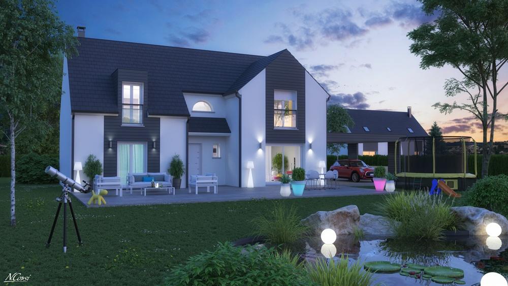 recherche maison neuve ou maison individuelle 93160 noisy. Black Bedroom Furniture Sets. Home Design Ideas