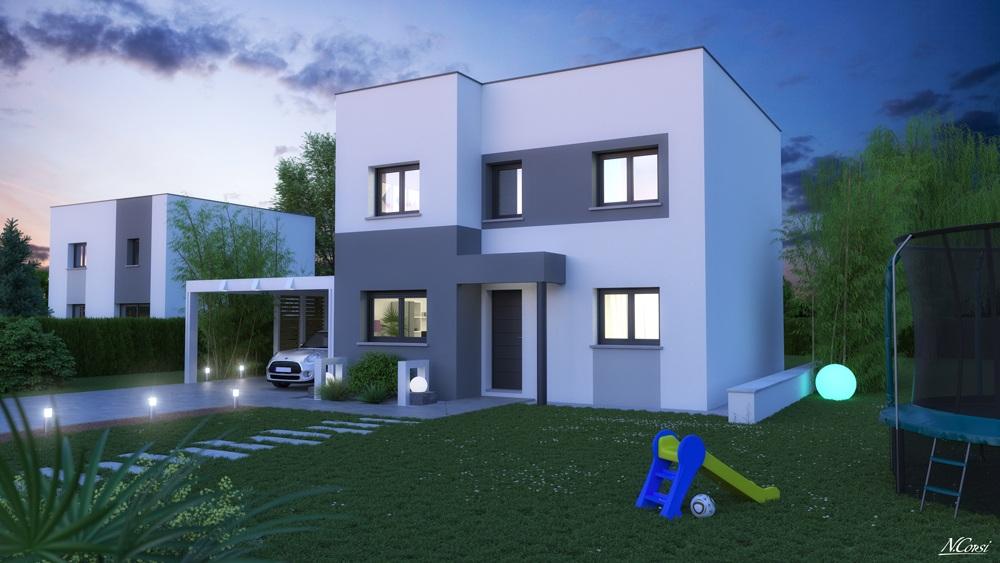 Photo maison Terrain de 255 m² + maison