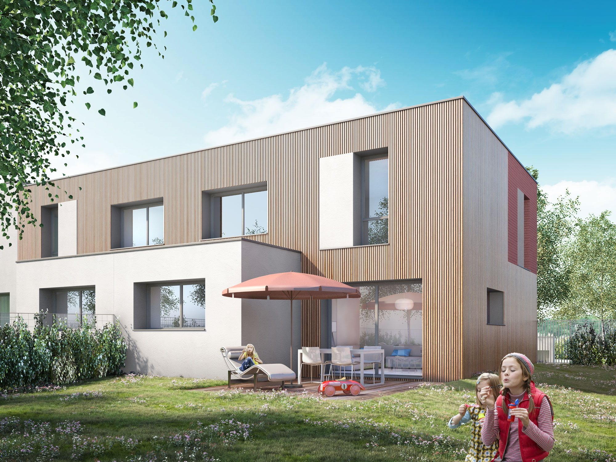 Terrain et maison à construire Templeuve 93m²