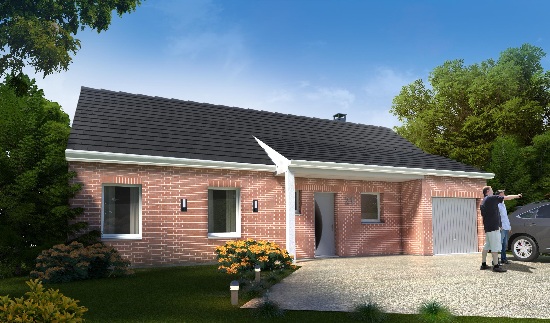 Construction d'une maison à Masny 59176 pour 179 000 €