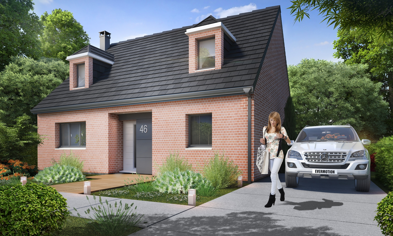 Construction d'une maison à Pacy-sur-Eure 27120 pour 337 736 €