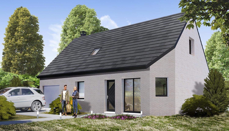 Construction d'une maison à Hazebrouck 59190 pour 199 500 €