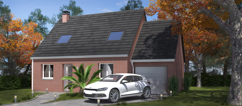 Construction d'une maison à Mametz 62120 pour 164 850 €