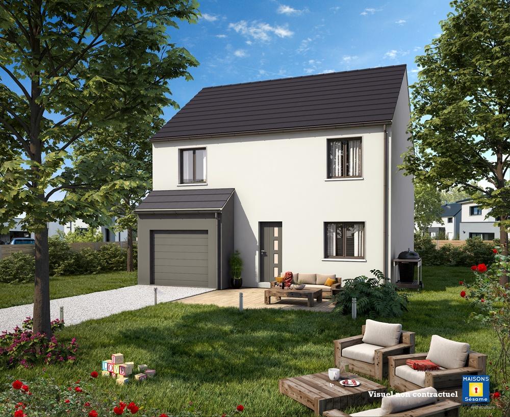 Photo maison Terrain de 400 m² + maison