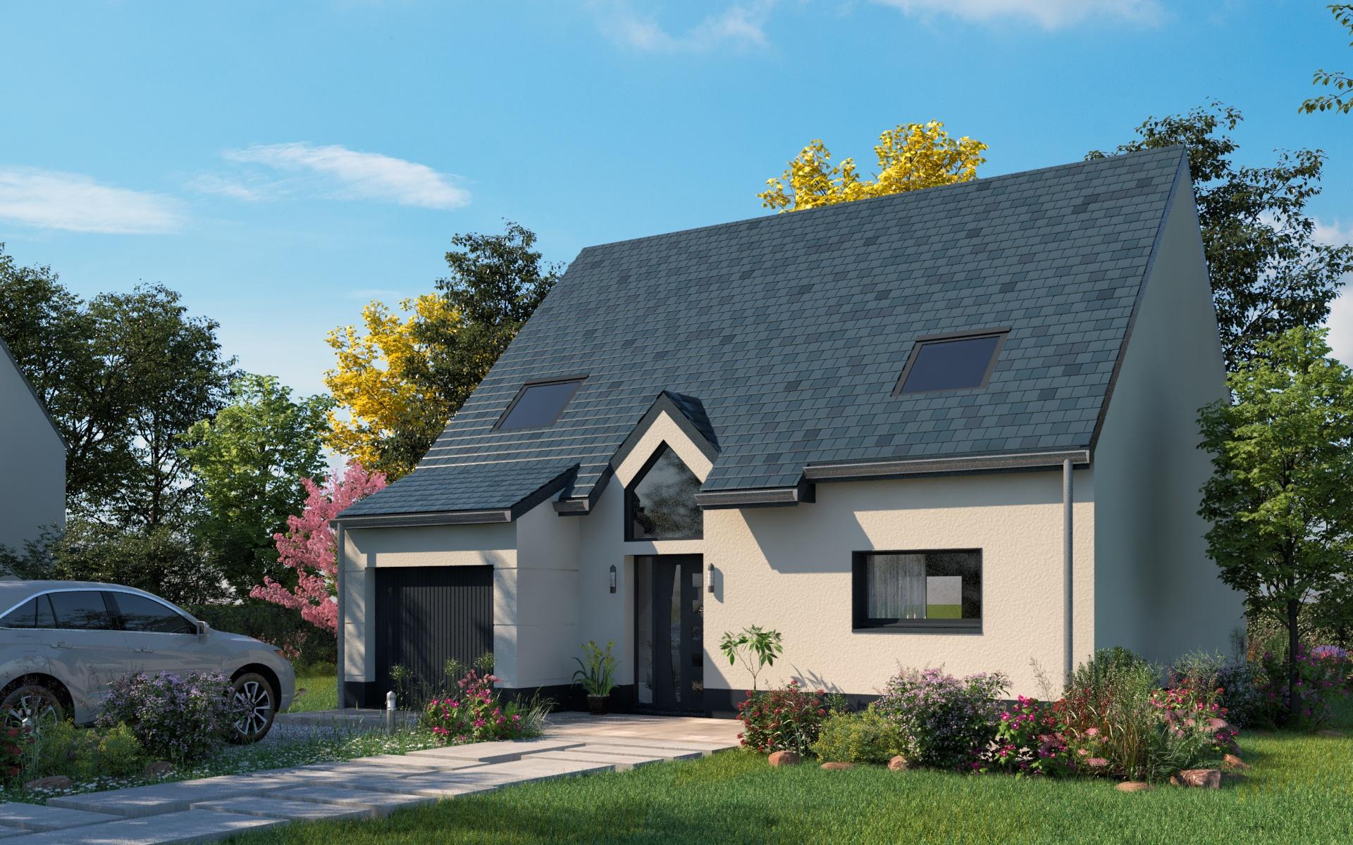 Construction d'une maison à Breilly 80470 pour 204 059 €