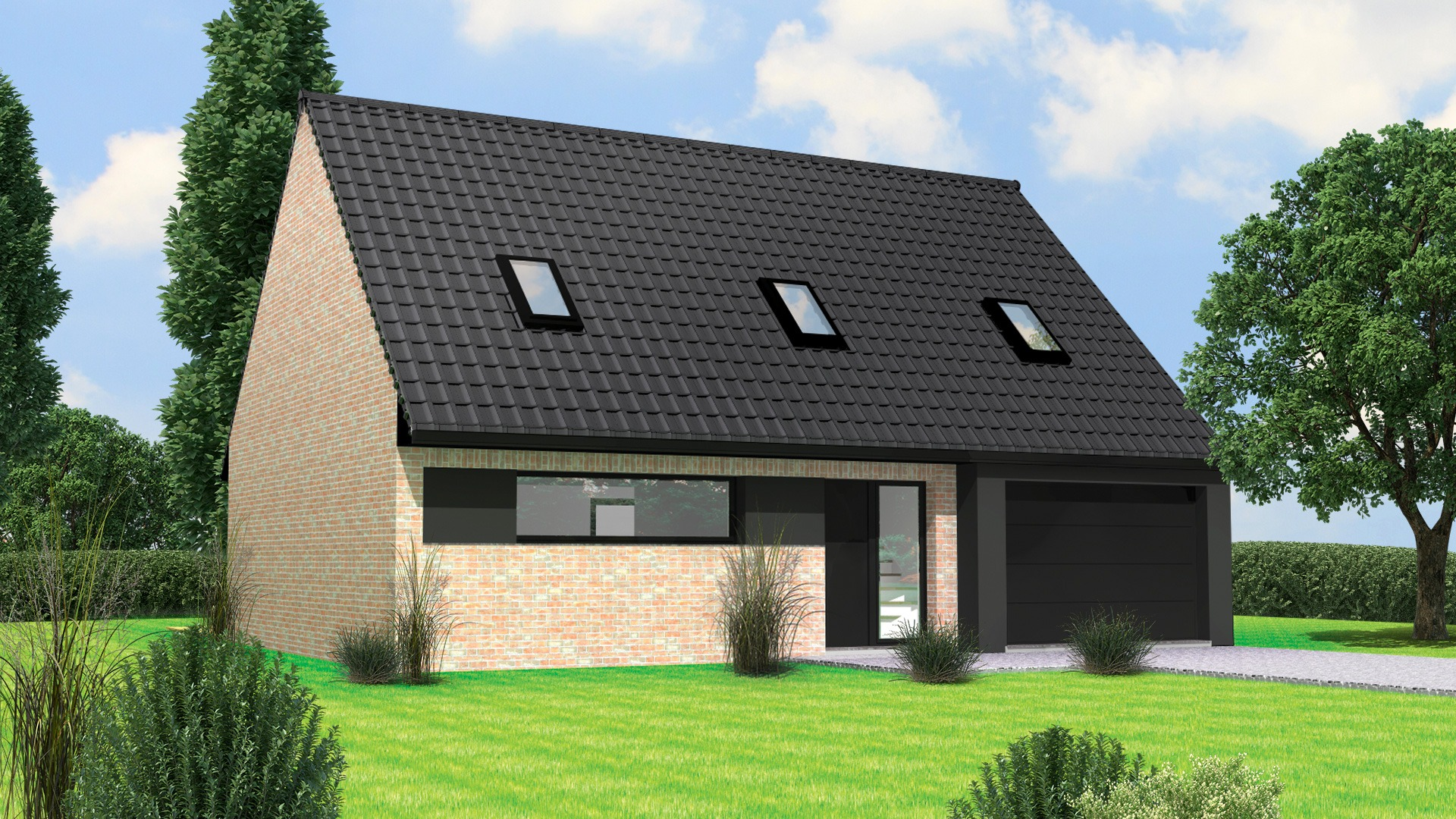 Terrain et maison à construire Lambres-lez-Douai 118m²