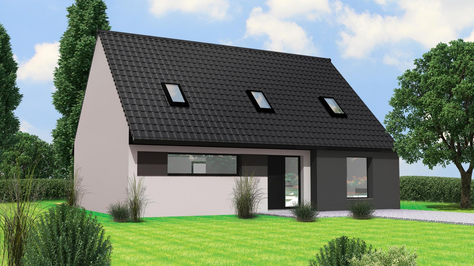 Terrain et maison à construire Guesnain 138m²