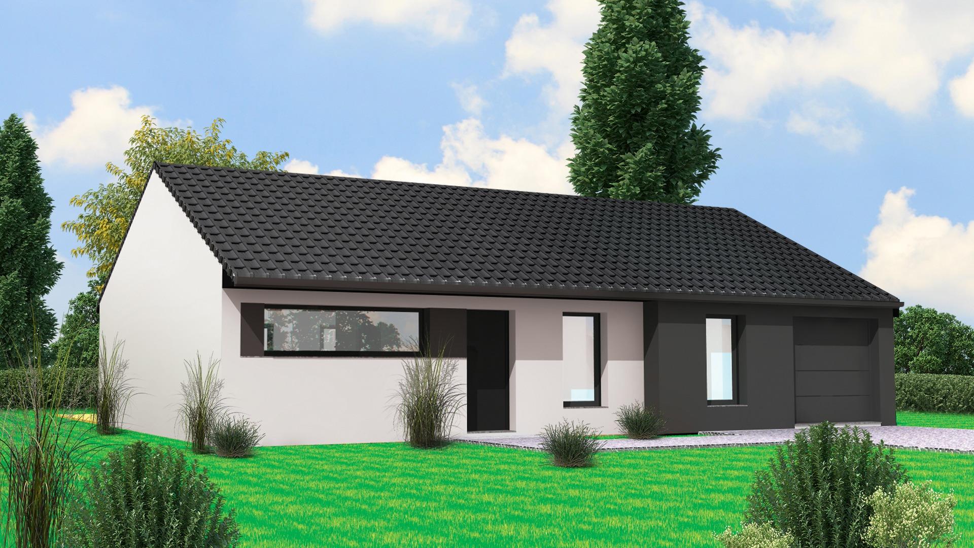 Terrain et maison à construire Guesnain 99m²