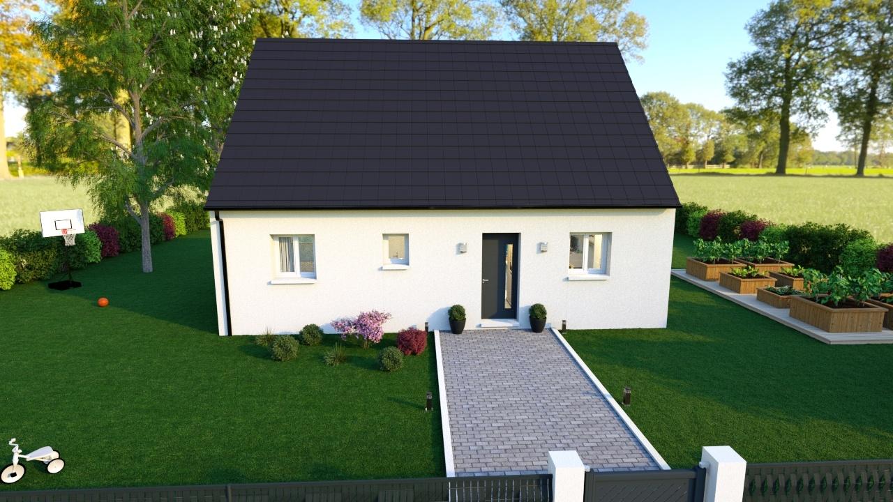 Construction d'une maison à Saint-Léger-lès-Domart 80780 pour 160 141 €