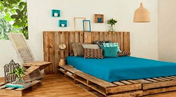 Palette et papier peint : découvrez six décorations tendances, économiques et astucieuses pour embellir votre intérieur !