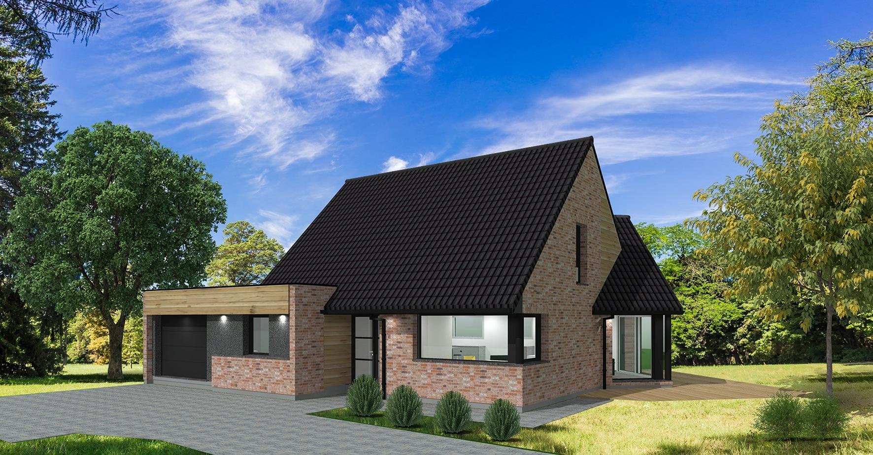 Terrain et maison à construire Brillon