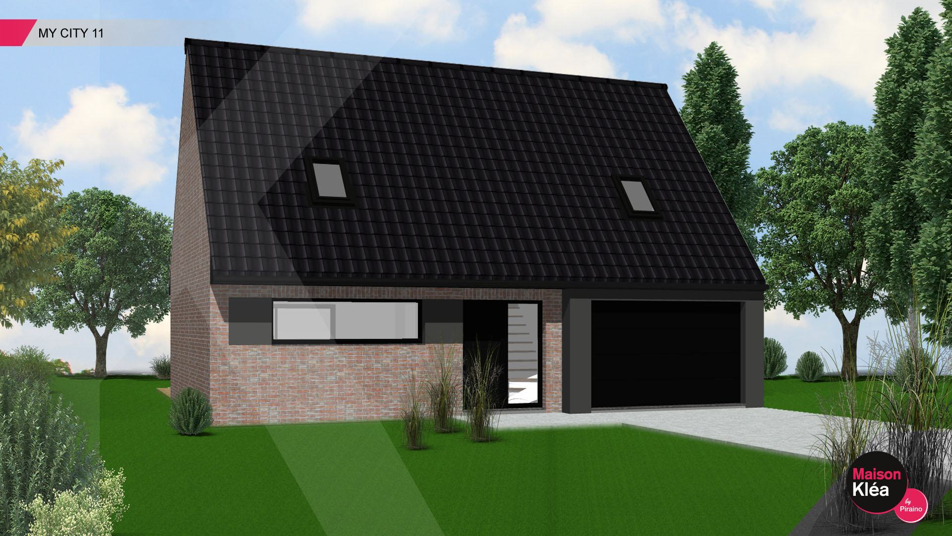 Terrain et maison à construire Comines 111m²