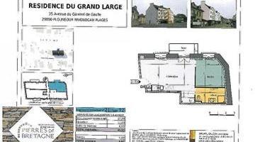 Vente appartement 2 p. 45 m²