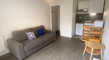 Location studio 19 m²