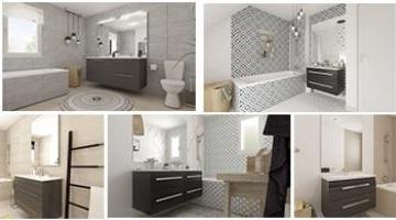 Les différentes salles de bains des MAISONS VIVALIA