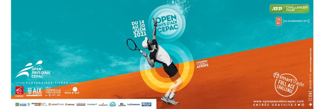 Jeu concours Open Pays d'Aix Cepac 2021